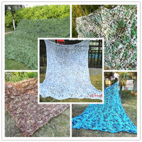 2x5m Jungle Desert Camo Blind Army Military Tree Stand Hunting Shooting Camping Camouflage Nets Sun Shelter Car Cover