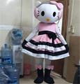 Wholesale 2014 on sale,fast shipping, lowest price&high quality ofHigh quality of hello kitty Mascot Costume!,Free Shipping