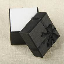 1dc01be8e Cheap Sale Cheap+ Muti-colore Gift Box for Jewelry 4*4 *3cm Display Paper Gift  Ring Box Square Package Bowknot Case