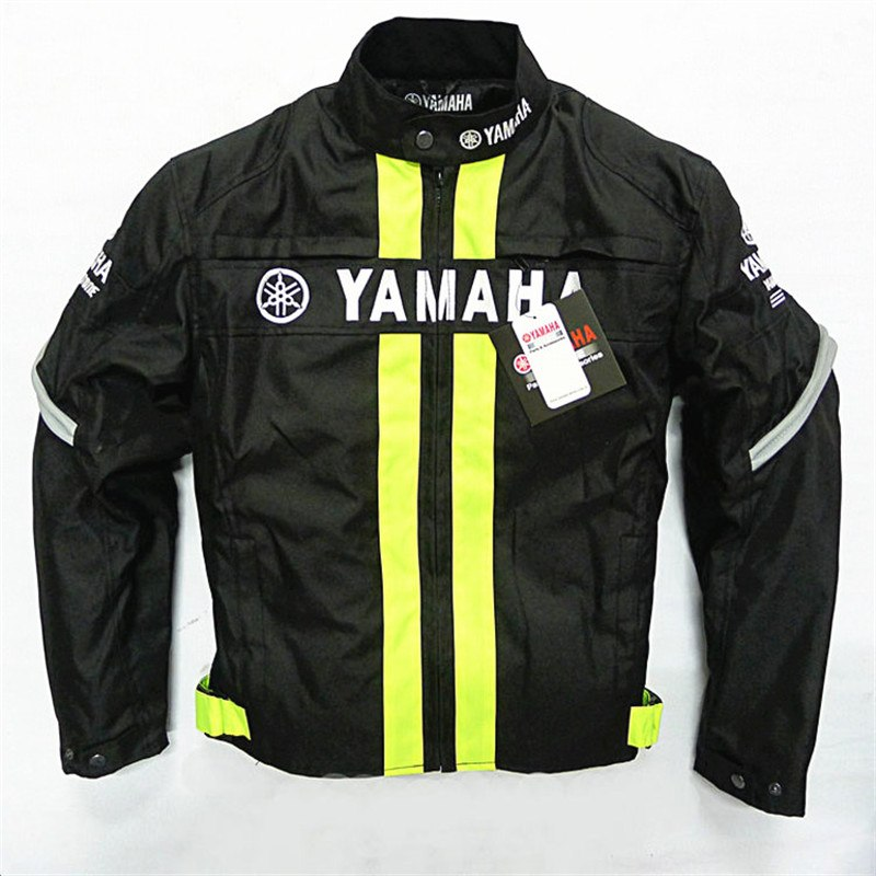 Winter Removable Cotton Liner Men Jacket Motorcycle Racing Jackets With Protective Gear For Yamaha Auto Moto Jacket Chaqueta moto gp 2018 summer for yamaha jacket winter motorcycle racing pants jackets for men chaqueta suit protector pads motor trousers