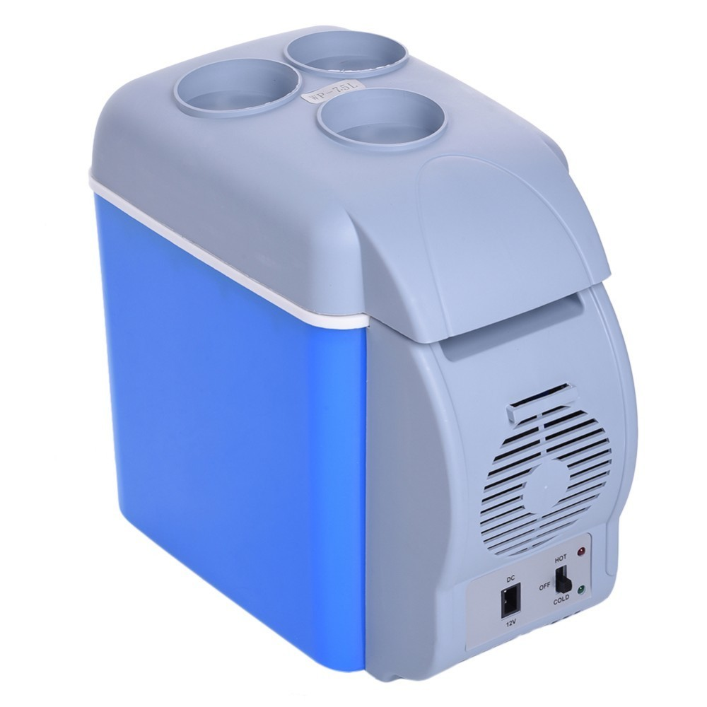 Smad Portable 7.5L Car Refrigerator Multi-Function Cooler Freezer Warmer Refrigerator Fridge Auto Supply for Travel beauty instrument laser freckle removal machine skin mole removal dark spot remover for face wart tag tattoo remaval pen salon