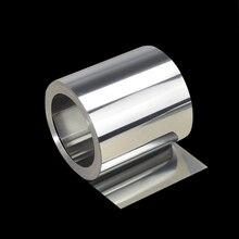 1 шт. 0,1X100X1000 мм лист нержавеющей стали 304 Металл тонкая фольга пластины прокладка промышленности домашние материалы для металлообработки сварки
