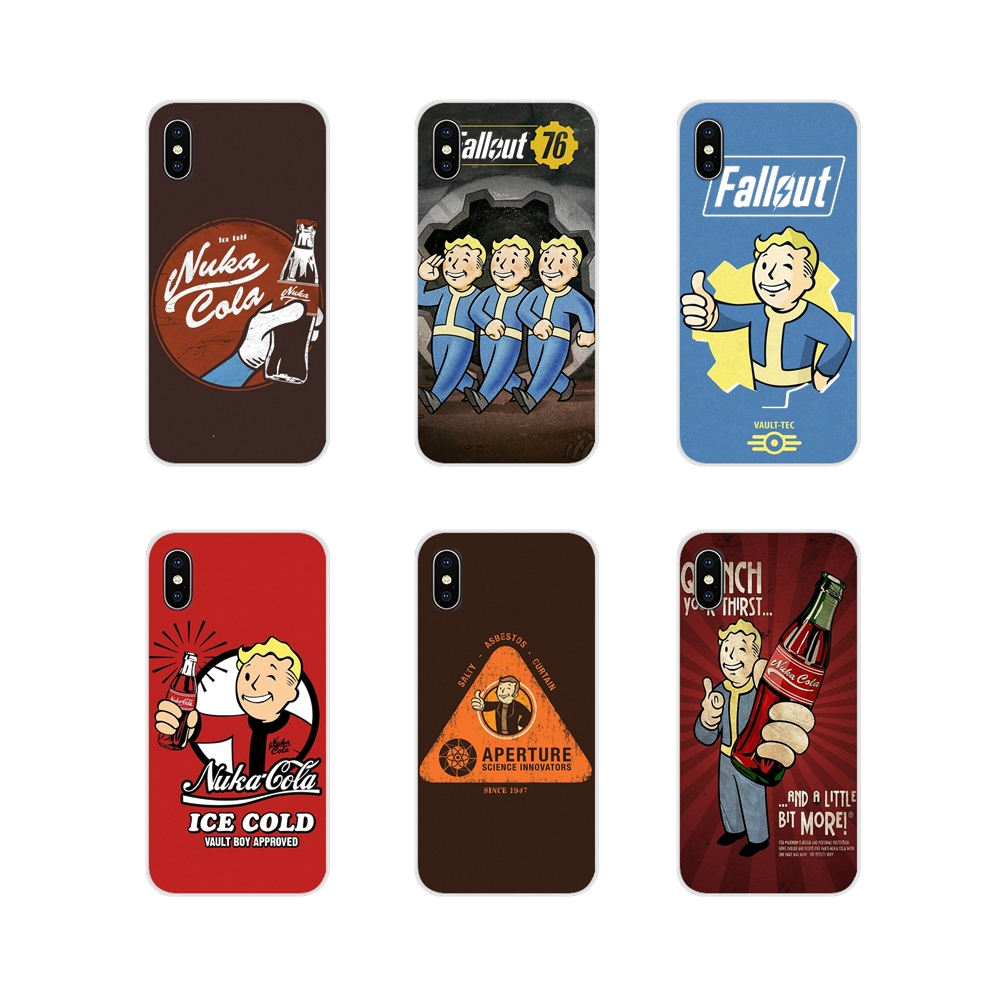 Cell Phone Cases Cover Black Isle Studios Game Fallout For Nokia 2 3 5 6 8 9 230 3310 2.1 3.1 5.1 7 Plus For LG Q6 7 8 9 X Power