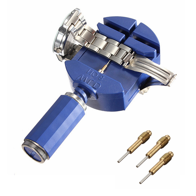 цена на New Arrvial!!! Watch Link for Band Slit Strap Bracelet Chain Pin Remover Adjuster Repair Tool Kit 28mm