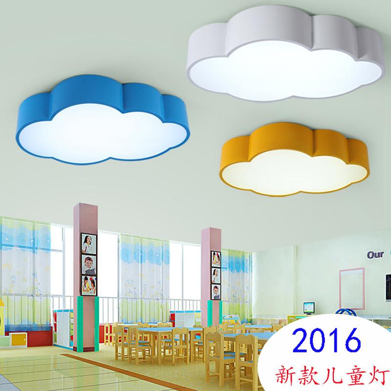 nios de dibujos animados de la lmpara lmparas luces moderne plafonnier led iluminacin para el hogar