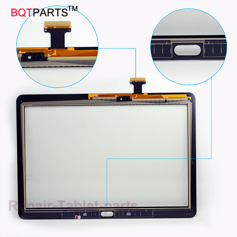 BQT For Samsung Galaxy Tab Pro 10.1 T520 Tested touchscreen Touch Screen Digitizer Glass panel Black / White