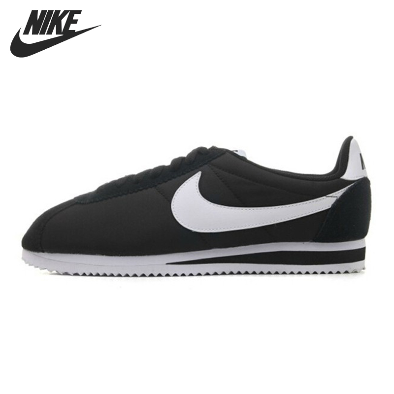 Original Nike CLASSIC CORTEZ NYLON Men's Skateboarding Shoes Low top Sneakers original nike classic cortez nylon men s skateboarding shoes 532487 sneakers free shipping