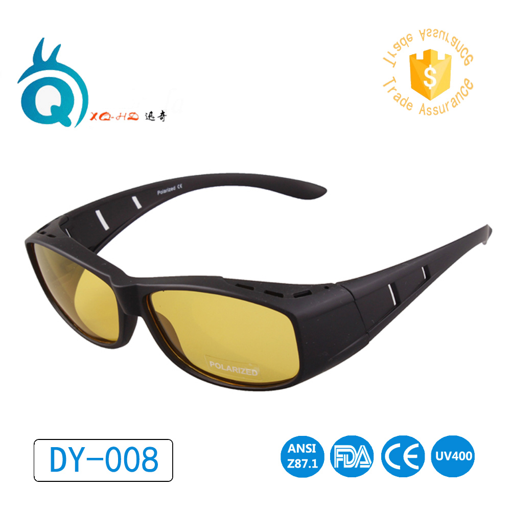 14dba188b401 Unisex Fit Over glasses cover Prescription night driving glasses sunglasses  night vision goggles polarized sunglasses