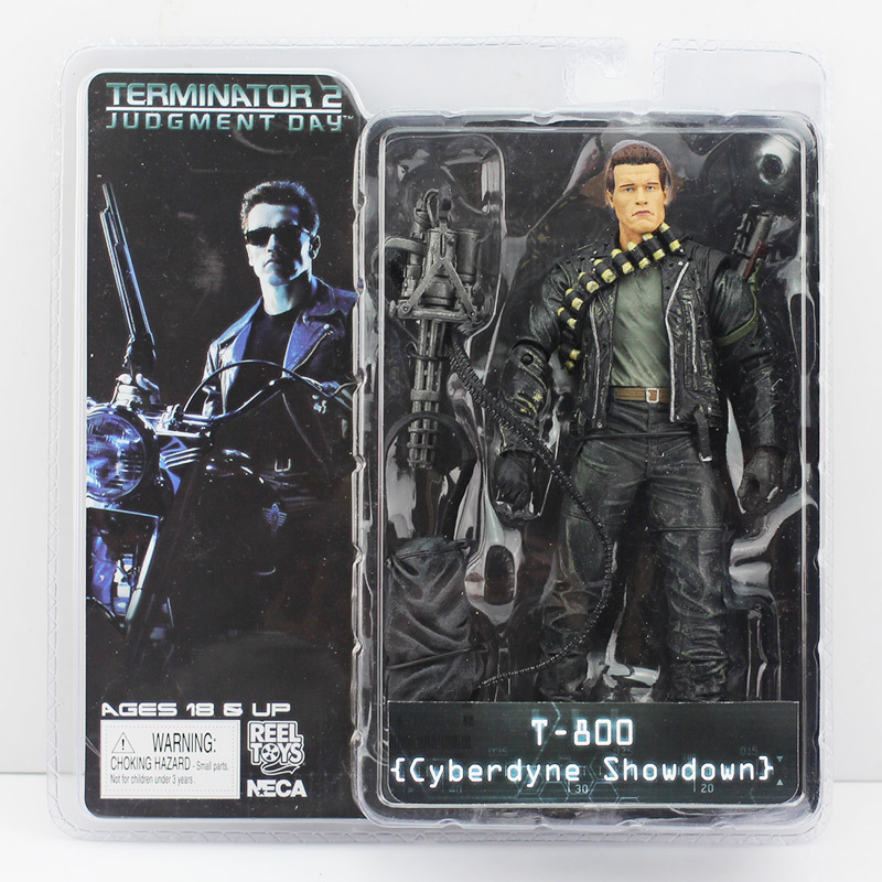 Image 3 - Terminator 18cm 6 Styles NECA The Terminator 2 Action Figure T 800 ENDOSKELETON Model Toys-in Action & Toy Figures from Toys & Hobbies