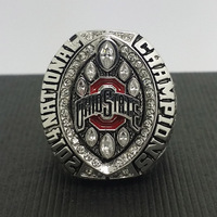 2014 2015 Ohio State Buckeyes National College Football Playoff Championship Ring 8 14Size High Quality Solid