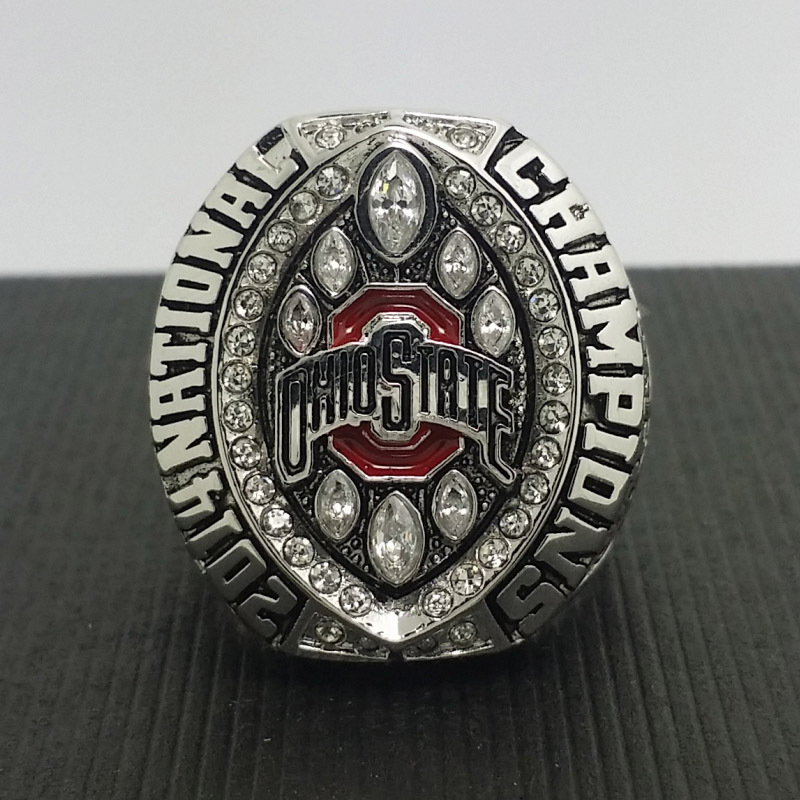 2014 2015 Ohio State Buckeyes National College Football Playoff Championship Ring 8-14Size High Quality Solid Ring Elliott