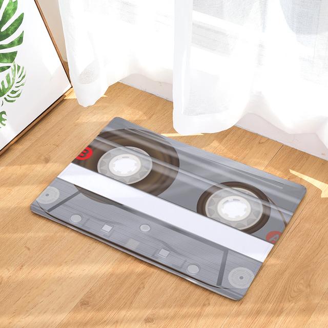 Vintage Tape Waterproof Anti-Slip Entrance Mat
