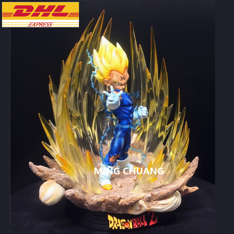 20 Dragon Ball статуя Супер Saiyan бюст Вегета полный Длина портрет 1:4 анимационная фигурка GK Коллекционная модель Toy BOX 53 см Z220