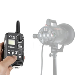 Image 3 - Godox XT 16 무선 2.4G 플래시 송신기 스튜디오 플래시 (송신기 전용)