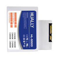 HUALLY 2 5inch SATA SATA3 SSD Most Competitive Series 16GB 32GB 60GB 120G Solid State Disk