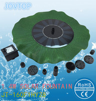 Solar Fountain Solar Water Pump Brushless Motor Vacuum Pump Landscape Submersible Pumps Floating Lotus Leaf Pond
