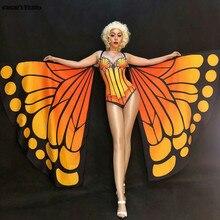 Body Party Schmetterling Kostüm