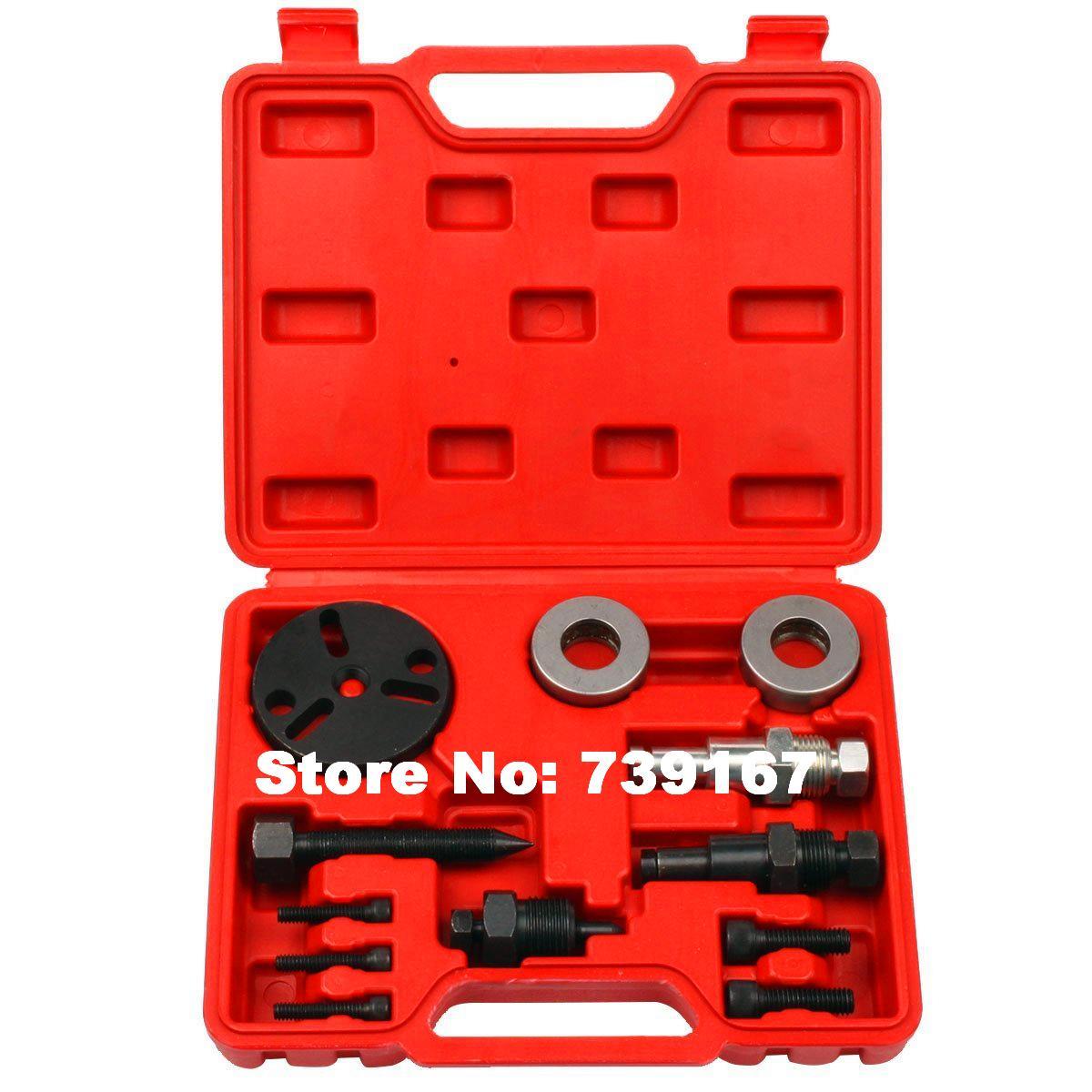 Voiture climatiseur compresseur embrayage enlèvement extracteur outils Auto climatisation embrayage dissolvant réparation Garage outils ST0045