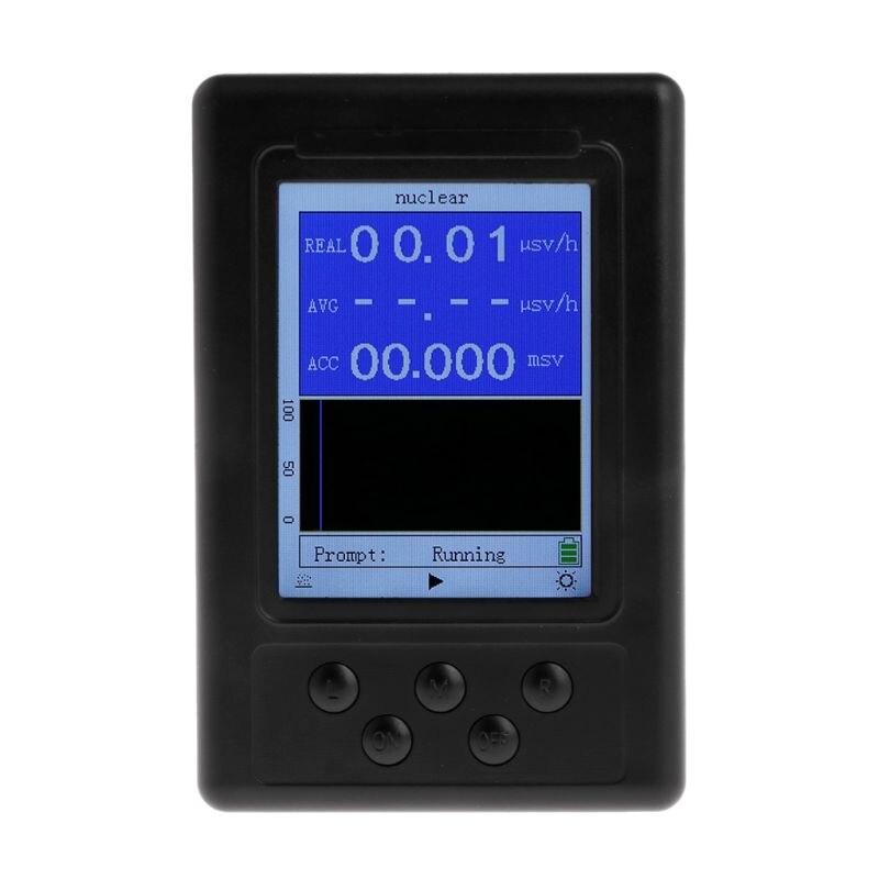 Portable Dosimeter Geiger Counter Nuclear Radiation Detector X-ray Beta Gamma DetectorPortable Dosimeter Geiger Counter Nuclear Radiation Detector X-ray Beta Gamma Detector