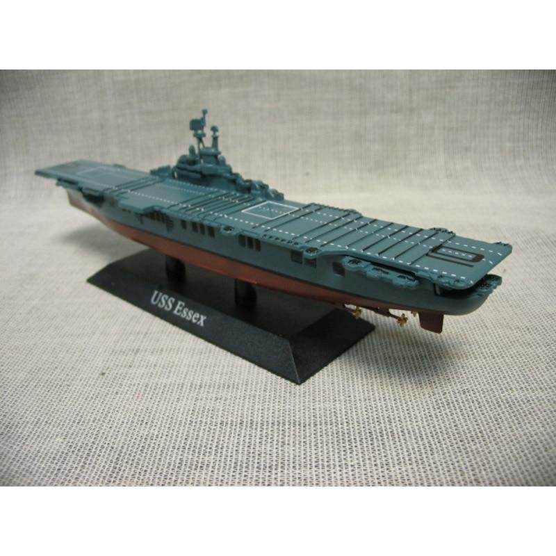 World War 2 Usa Essex Aircraft Carrier Diecast Model 1
