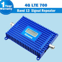 Lintratek Band 13 4G Amplifier LTE 700 bc Europe Mobile Phone Signal Booster 70dB Cell Phone Amplifier 4g lte 700mhz Repeater 27