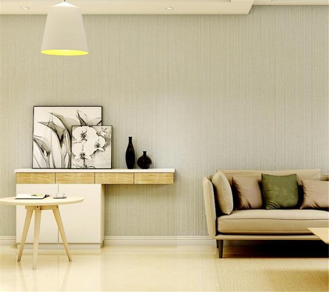 Living Room Hotel Interior Decoration Wallpaper Simple Plain Bedroom Pure Color Roll