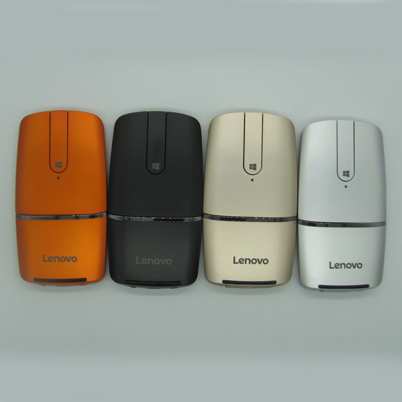 Lenovo Yoga Bluetooth 4.0 Laser Mice Wireless Touch Mouse PPT Presenter Dual Mode Li battery for iMac Surface Macbook pro WIN10-in Mice from Computer & Office    1