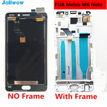 FOR Meizu M6 Note LCD Display Touch Screen Digitizer Assembly For 5.5