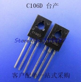 C106D THYRISTORE SCR 400V 4A C 106 DC TO-126