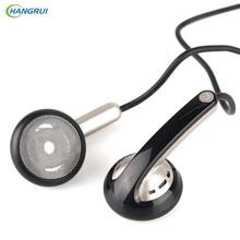 HANGRUI Qian39 HIFI Earphone Dynamic Flat Head Plug Earphones Mini In Ear Bass headsets 3.5mm