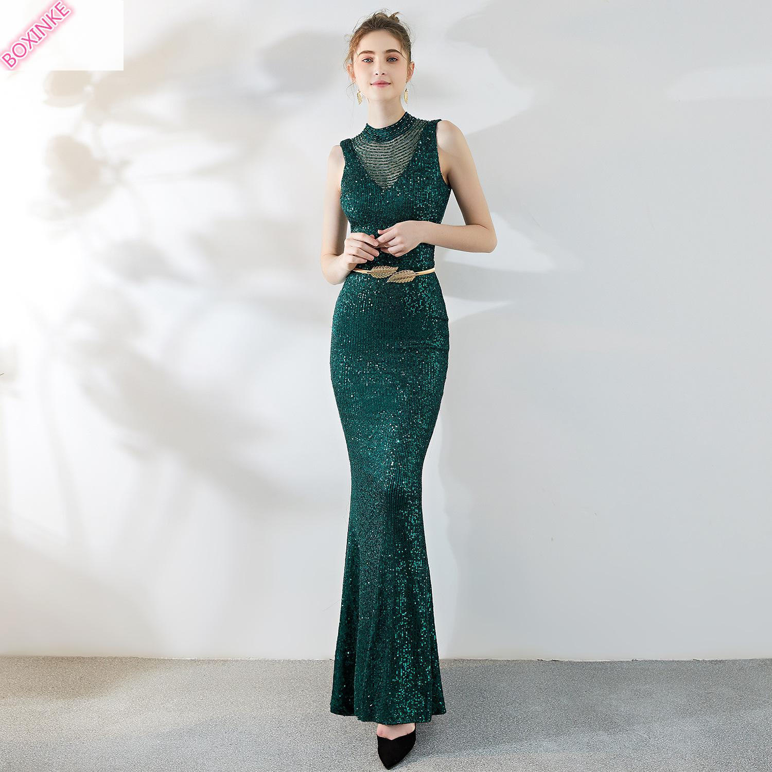 2019 Sale Mesh Women Dress Zanzea Plus Size Annual Meeting Of Hosts Slim Sexy Fishtail At The Noble Banquet New Dresses