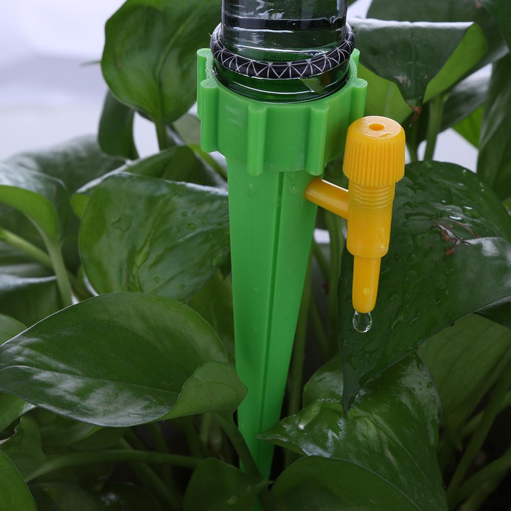 Auto Drip Watering Irrigation System Automatic Watering Spike for Plants Potted Flower Household Water Bottle Drip Irrigation