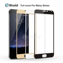 Nicotd pełna pokrywa szkło hartowane dla Meizu M3s Mini M5 uwaga M3X ochraniacz ekranu dla Meilan M3 uwaga M3E MX6 pro 5 6 Plus U10 U20 tanie tanio TEMPERED GLASS CN (pochodzenie) Folia na przód For Meizu Screen Protector For Meizu pro 7 plus u20 Ultrathin Premium Tempered Glass Screen Protector For Meizu MX5 MX4