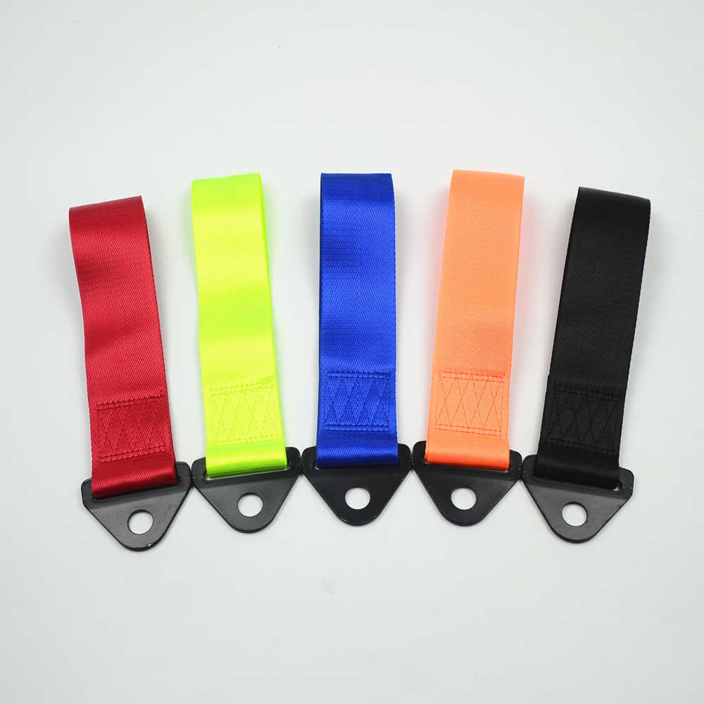 Tow Strap Universal High Quality Racing Car Tow Strap / Tow Ropes / Hook / Towing Bars straps style car styling Car modification