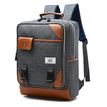 New Vintage Men Women Canvas Backpacks School Bags for Teenagers Boys Girls Large Capacity Laptop Backpack Fashion