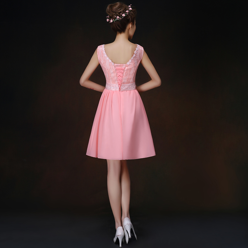 2017 New Bridesmaid Dresses Plus Size Stock Cheap Under 50 Pink