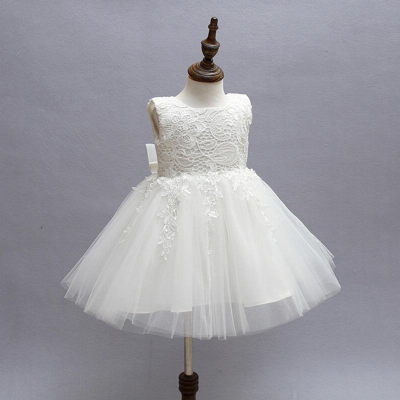 311c10b70000 Kids Flower Girls Dresses Pageant Vestidos Bebes Lace Tulle Kid Girl Party  Dress for Wedding Children