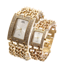 цена на G&D Women Wristwatches Quartz Watch Luxury Gold Watch Relogio Feminino Saat Dress Watch Relojes Mujer Ladies Gifts Casual Jelly