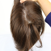 Eversilky супер качество Прямые 7x9 мужские замена волос системы Toupee европейские волосы инъекции поли кожи
