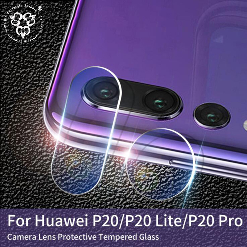 Lainergie 10PCS Back Rear Camera Lens Protector for Huawei P20 Pro / P20 Lite 2.5D Soft Tempered Glass Protective Film Cover