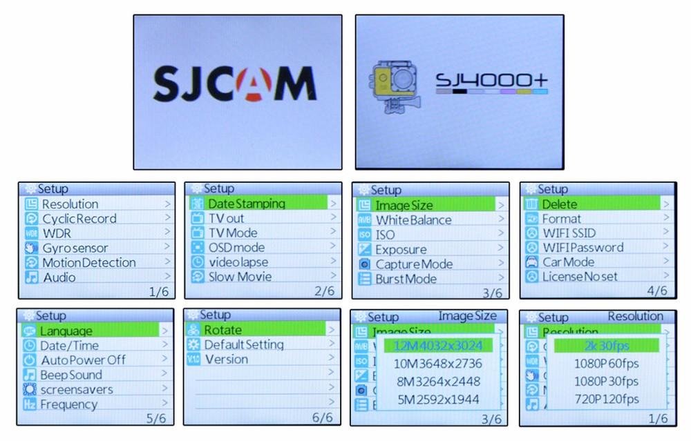 original sjcam sj4000+ plus wifi 2k action camera 11