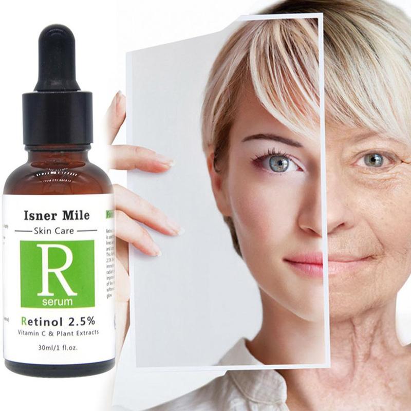 30ml Retinol 2.5% Serum Firming Repair Skin Face Facial Serum Vitamin C Anti Wrinkle Anti Acne Anti Aging Lifting Skin Care