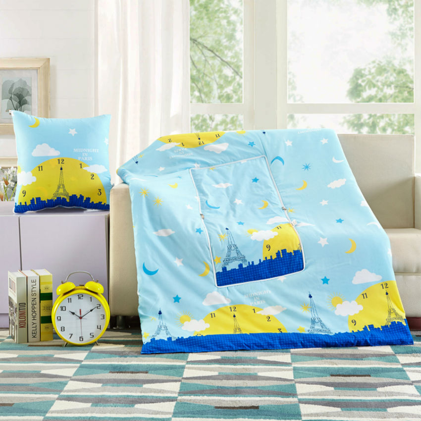 BEYOND CLOUD New Fashion Design Multifunction Summer Quilt Air Conditioning Quilted Blanket Thin Comforter 100% Cotton Cover 069