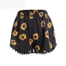 d691af79d5 Pantalones cortos de algodón de las mujeres de verano explosión de 2019 pantalones  cortos de verano