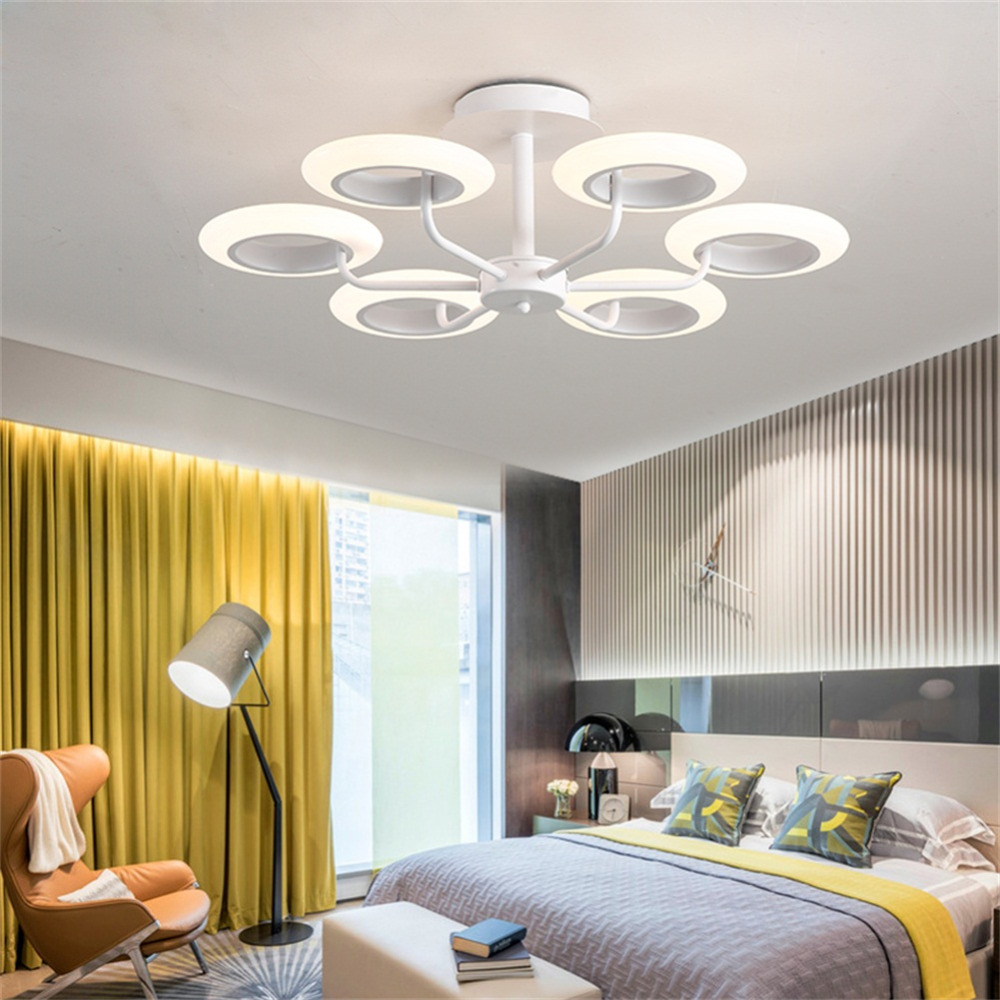 Art Modern LED Living Bedroom Modern Living Room Dining Room Study Restaurant Chandelier Lights Indoor Lighting