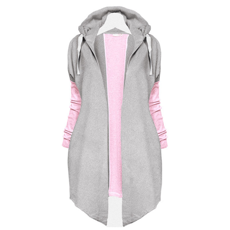 Women Casual New Fashion Lady Sexy Long Sleeve Hooded Hoodie Tops Outwear
