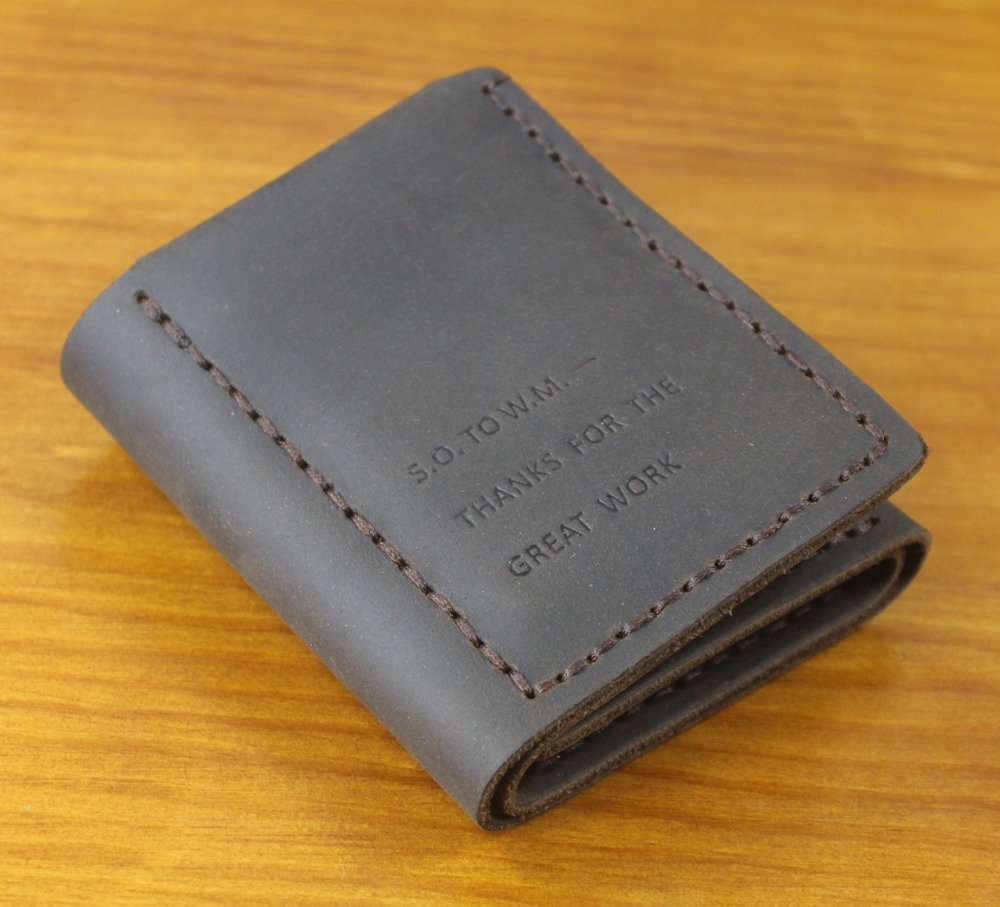 The Secret Life Of Walter Mitty Wallet Men Genuine leather Wallet Vintage Crazy horse Leather men wallet Handmade male purse circle