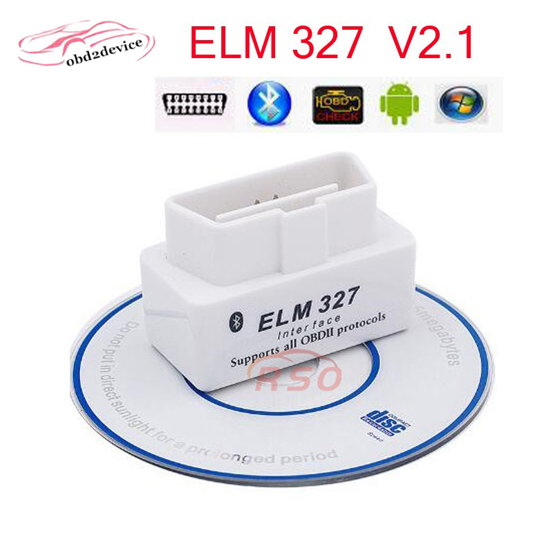 New Super Mini Elm327 Bluetooth OBD2/OBDII Diagnostic Tool ELM327 Scanner V2.1 Car Diagnostic-Interface For Android adapter icar obdii elm327 bluetooth car diagnostic tool white green