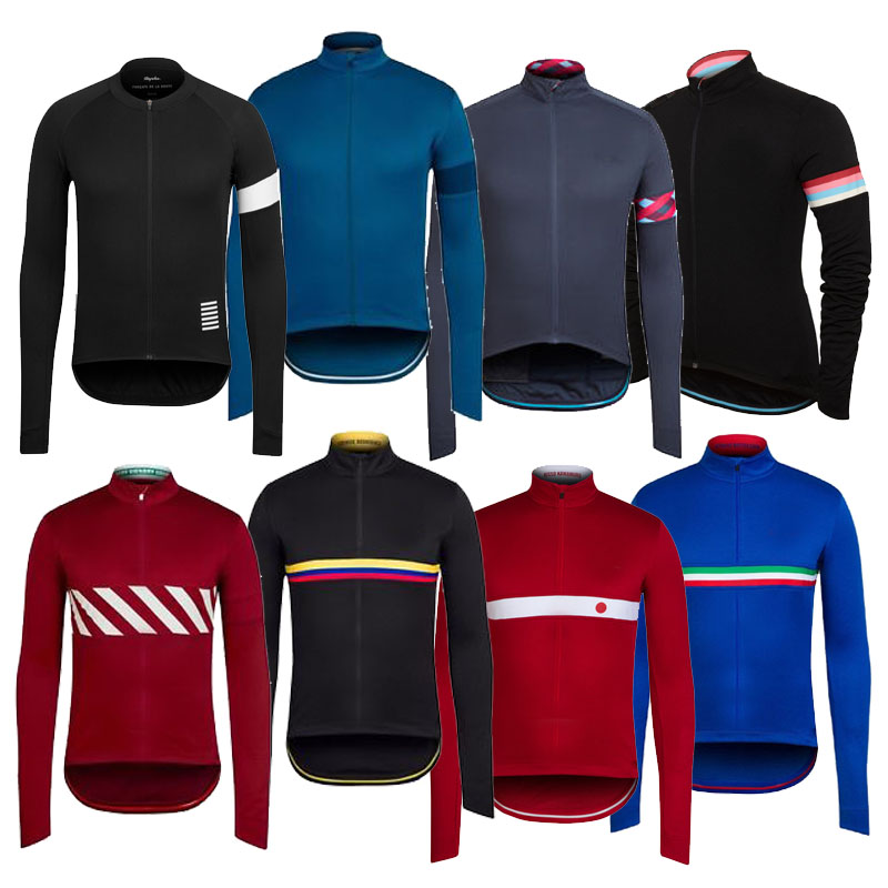 Hot 2015 Classic Winter Thermal Fleece Long Sleeve Cycling