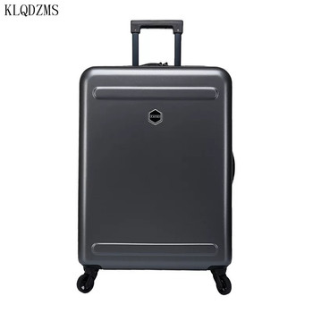 KLQDZMS 20/24/28inch ABS+PC Rolling Luggage Boarding Case travel Suitcase Spinner Trolley Suitcase wheeled Case